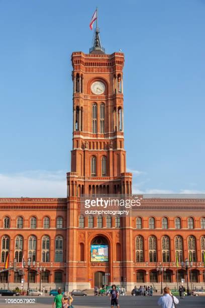 Rood stadhuis in Berlijn, Duitsland