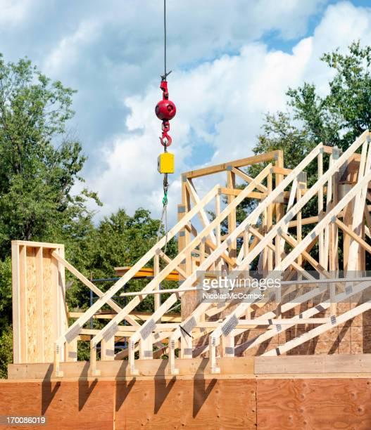 Construcción en el último piso