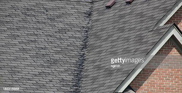 Roof needing repair