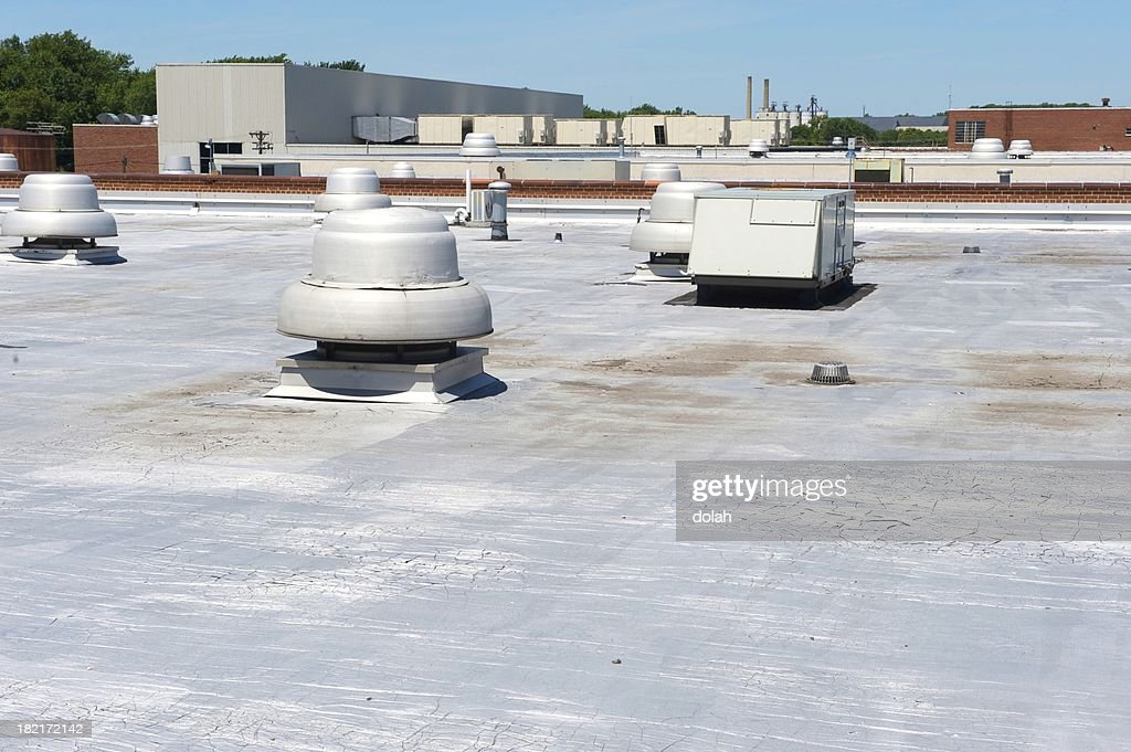 roof of a building : Stock Photo