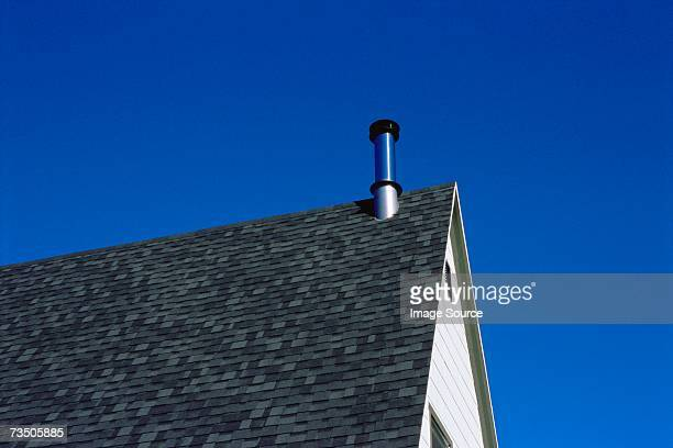 Roof of building