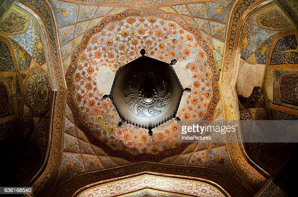 Roof Paintings Inside Mausoleum of Akbar