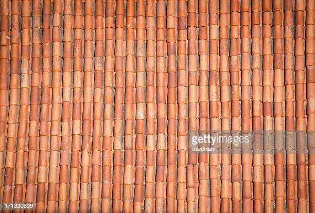 roof pattern - roof tile stock pictures, royalty-free photos & images