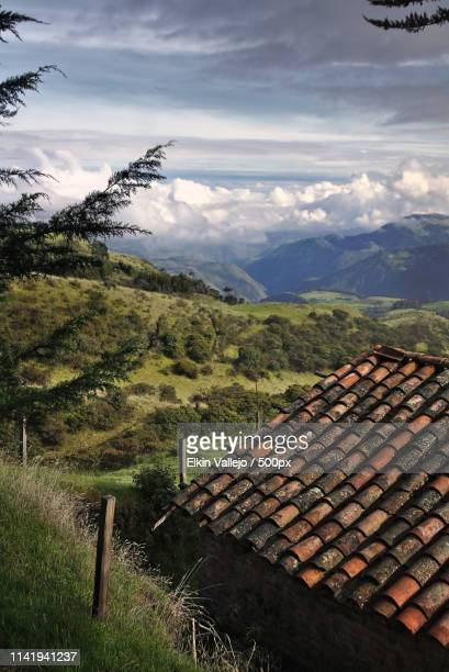 roof - nariño department stock photos and pictures