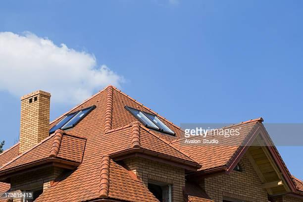 Sur le toit