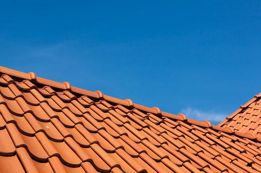 roof tile pattern, close up - gettyimageskorea