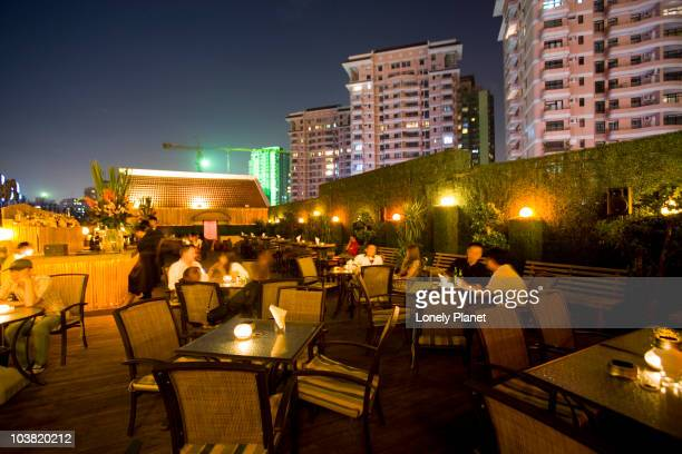 Roof top bar, World of Suzie Wong