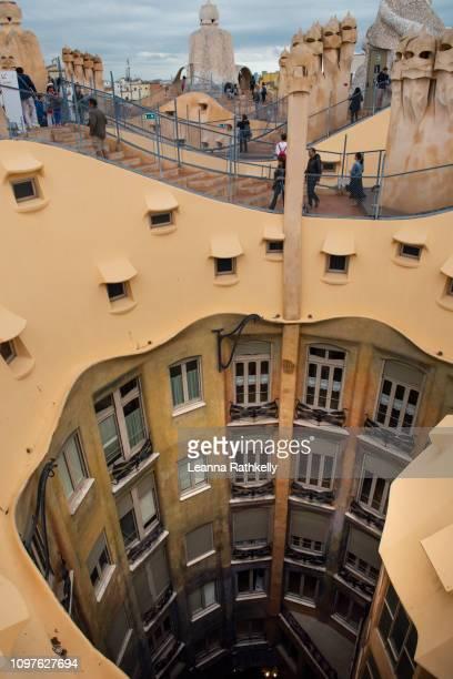 Roof top of Casa Mila