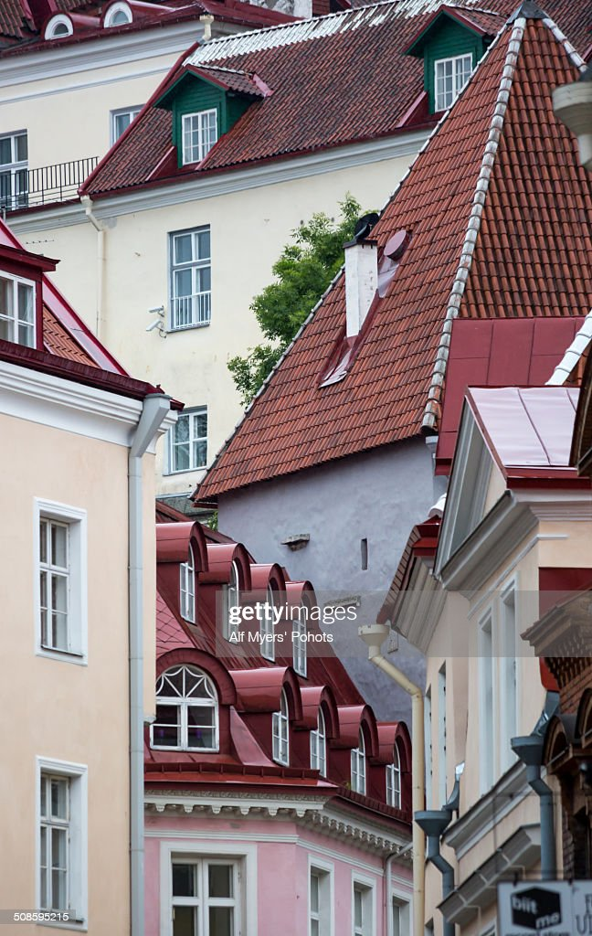 Roof Tops and Windows : Stock Photo