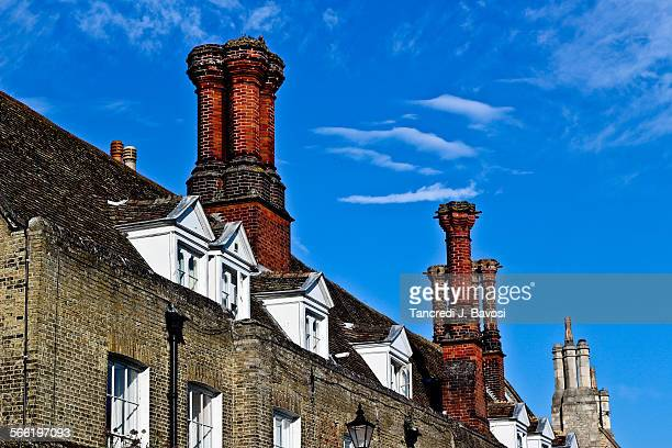 Roof tops in Ely