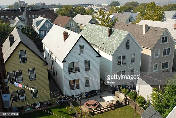 roof tops - new jersey stock pictures, royalty-free photos & images