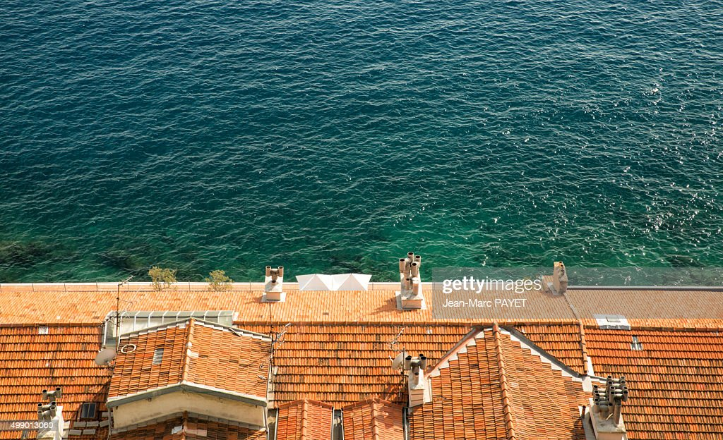 Roof typical of the French Riviera : Photo