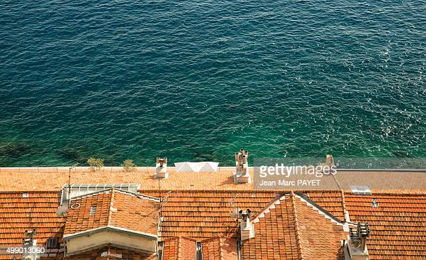 Roof typical of the French Riviera