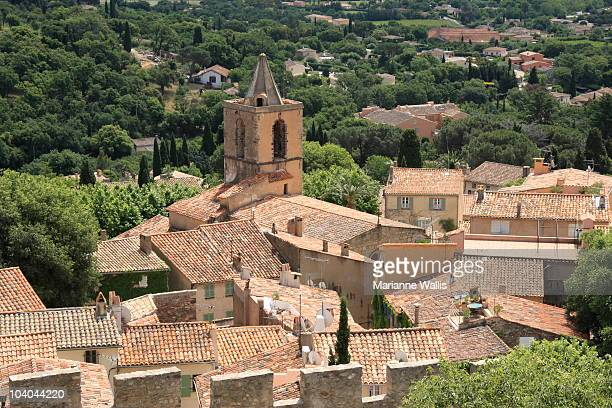 Roofs in Grimaud