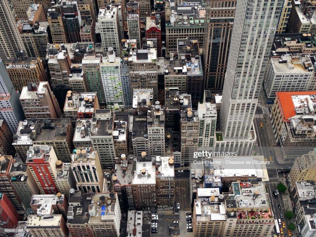 Roofs of Manhattan #2 : Stock Photo