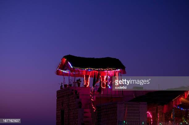 Rooftop bar in India