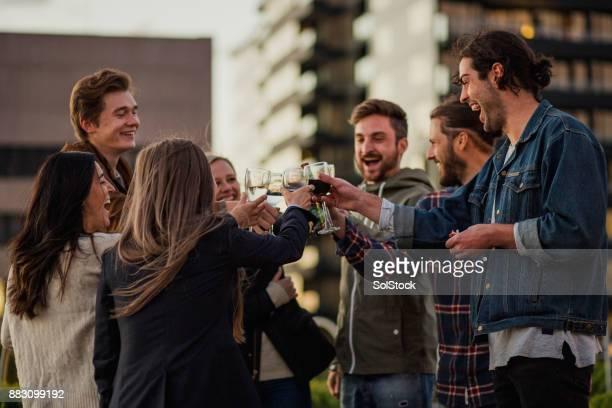Rooftop Cheers