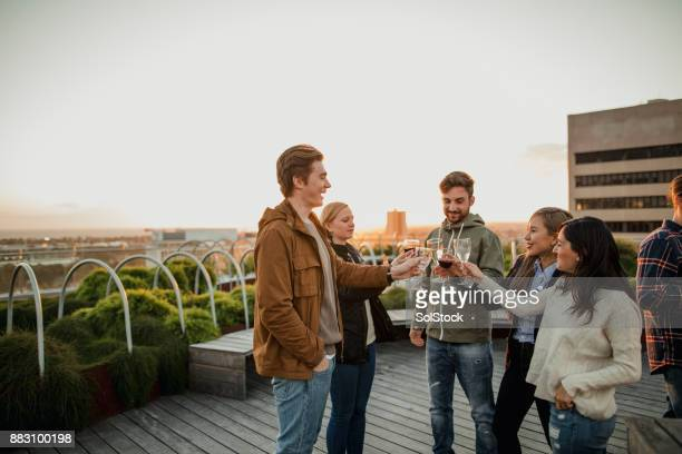 Rooftop Party in Melbourne