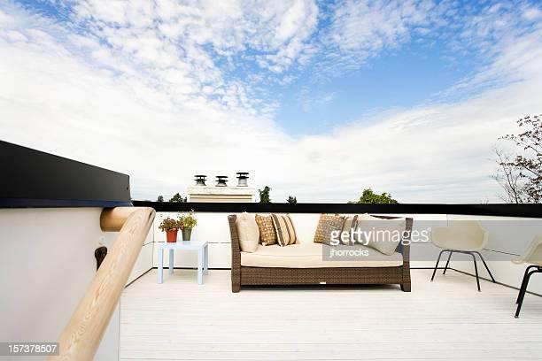 Patio auf dem Dach