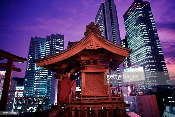 Rooftop Shinto Shrine