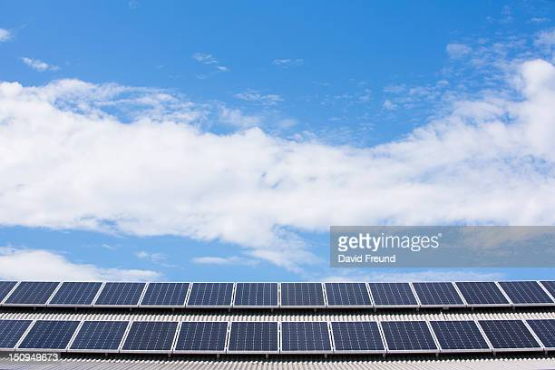 Rooftop Solar Electricity Panels