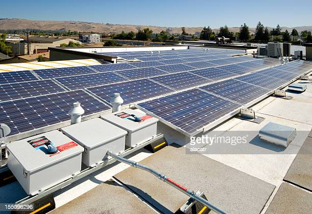 Rooftop Solar Power Installation
