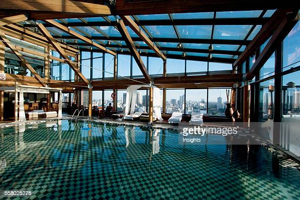 Rooftop Swimming Pool Of The Hotel Panamericano Buenos Aires Argentina