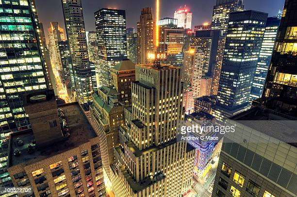 Rooftop view of Midtown Manhattan