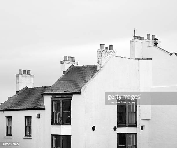 Rooftops and chimneys of England