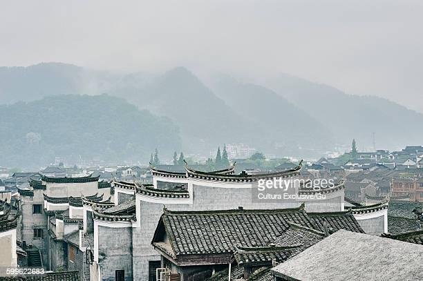 Rooftops, Fenghuang, Hunan, China