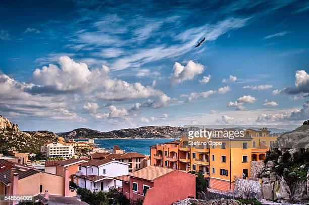 Rooftops, La Maddalena, Sardinia, Italy
