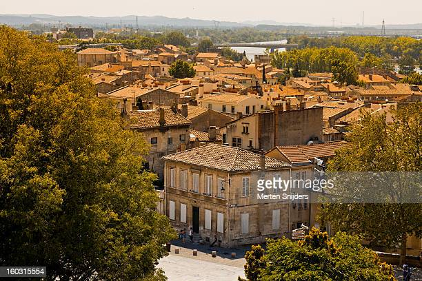 Rooftops of Avignon old town