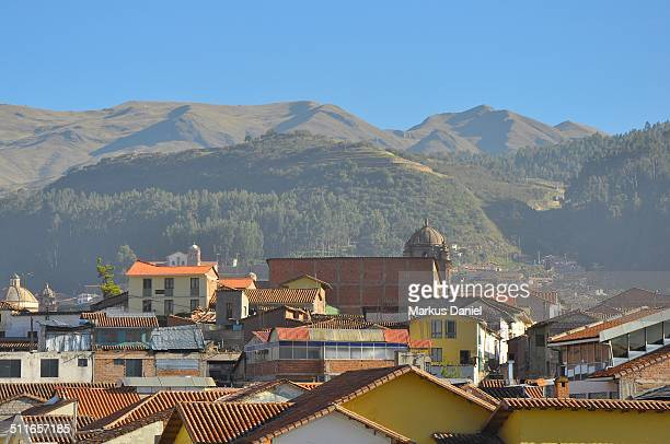 "rooftops of cusco, peru - ""markus daniel"" stock pictures, royalty-free photos & images"