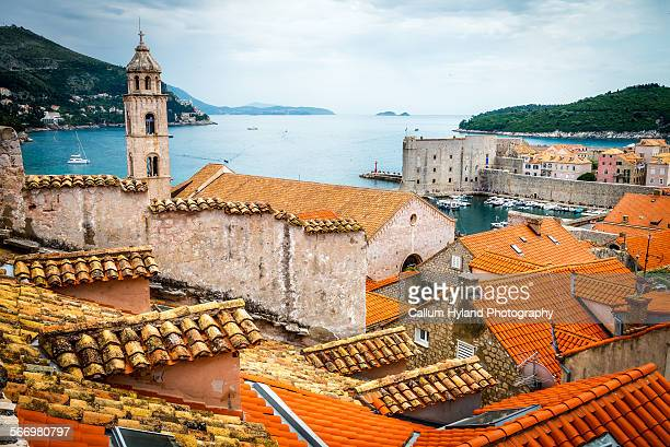 Rooftops of Dubrovnik, Croatia