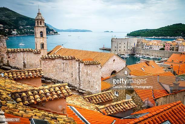 Rooftops of Dubrovnik, Croatia
