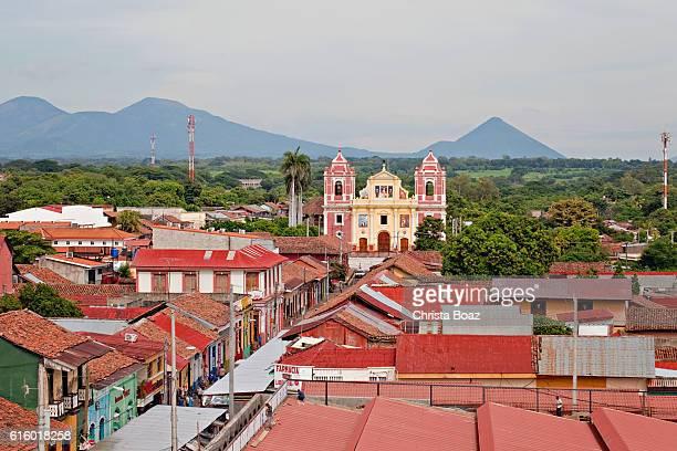 rooftops of leon - nicarágua - fotografias e filmes do acervo