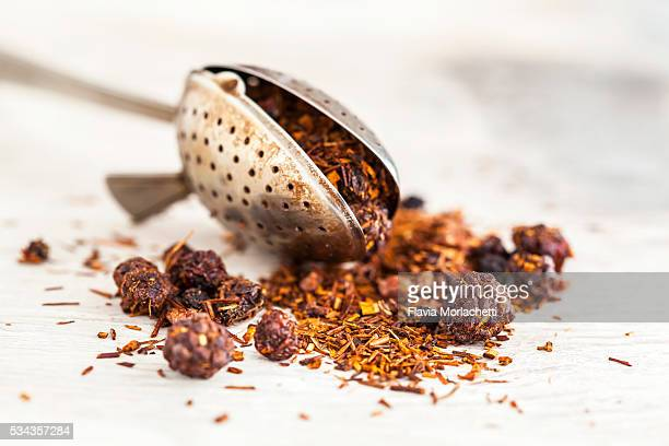 Rooibos tea with berry fruits