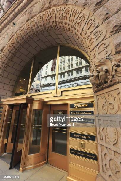 rookery building - rookery chicago stock pictures, royalty-free photos & images