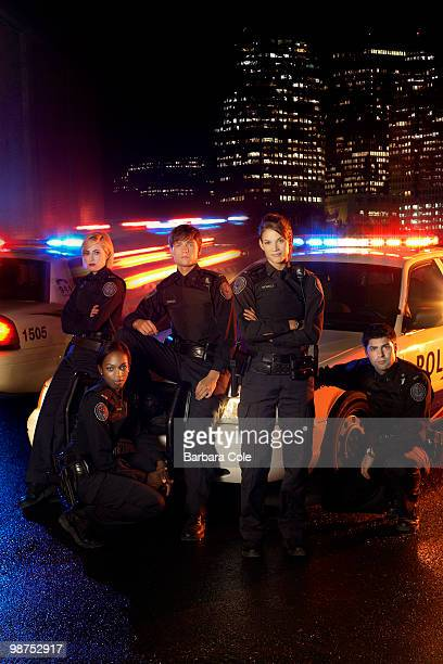 BLUE Rookie Blue stars Charlotte Sullivan as Gail Peck Enuka Okuma as Traci Nash Gregory Smith as Dov Epstein Missy Peregrym as Andy McNally and...