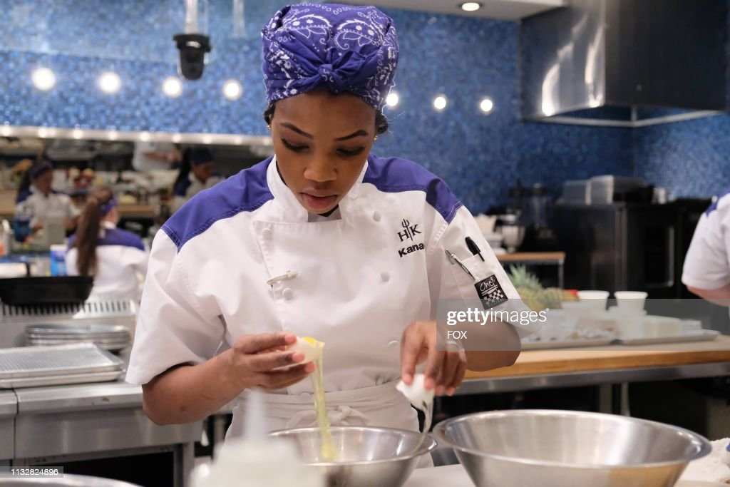 Rookie Kanae In The Devilish Desserts Episode Of Hells Kitchen Airing News Photo Getty Images