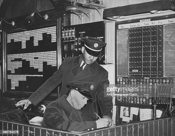 A rookie member learns to receive alarms and signals at the firehouse of Engine Company 11 one of the first African American firefighting companies...