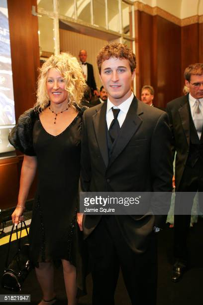 Rookie of the Year Kasey Kahne attends the 2004 NASCAR Nextel Cup Awards at the Waldorf Astoria on December 3 2004 in New York City