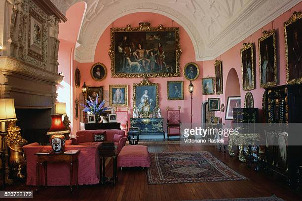 Room at Glamis Castle
