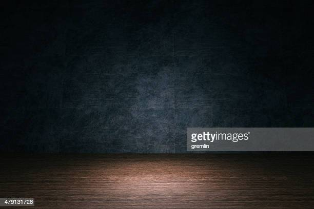 room background, hardwood floor, stone wall - dark stock pictures, royalty-free photos & images