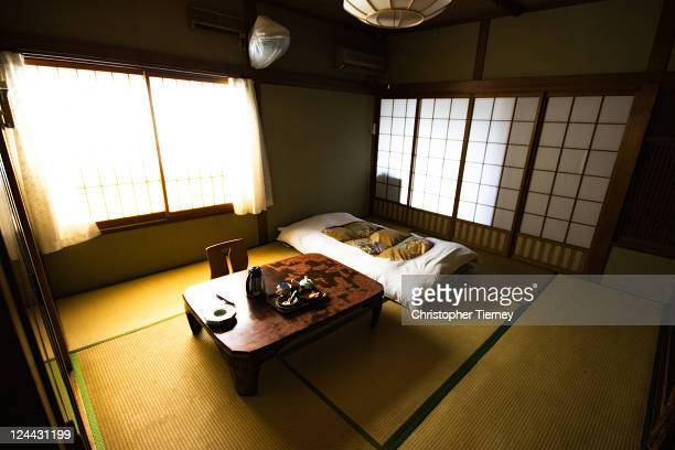 A room in a traditional Minshuku in Nara Japan