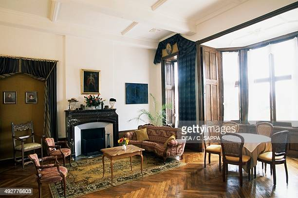 A room in Chateau of Raissac LanguedocRoussillon France