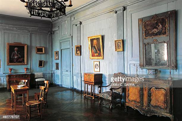A room in Chateau of Ravel 18th century Auvergne France
