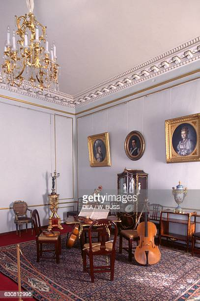Room in the Anna Andreevna Achmatova Literary and Memorial Museum Sheremetev Palace Saint Petersburg Russia