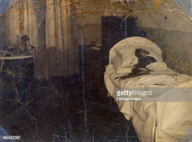 Room in the Mariinskaya Hospital where Fyodor Kokoshkin was murdered Petrograd Russia 1918 Kokoshkin and Andrei Shingarev were two of the leaders of...