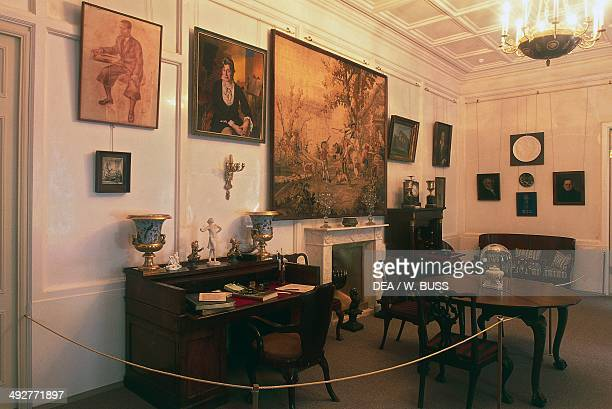 A room in the museum dedicated to the poetess Anna Akhmatova Andreevna Sheremetev Palace St Petersburg Russia